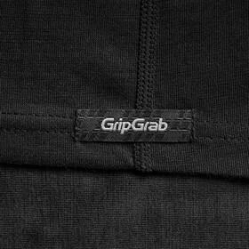 GripGrab Couche de base à manches courtes en polyfibre mérinos, black